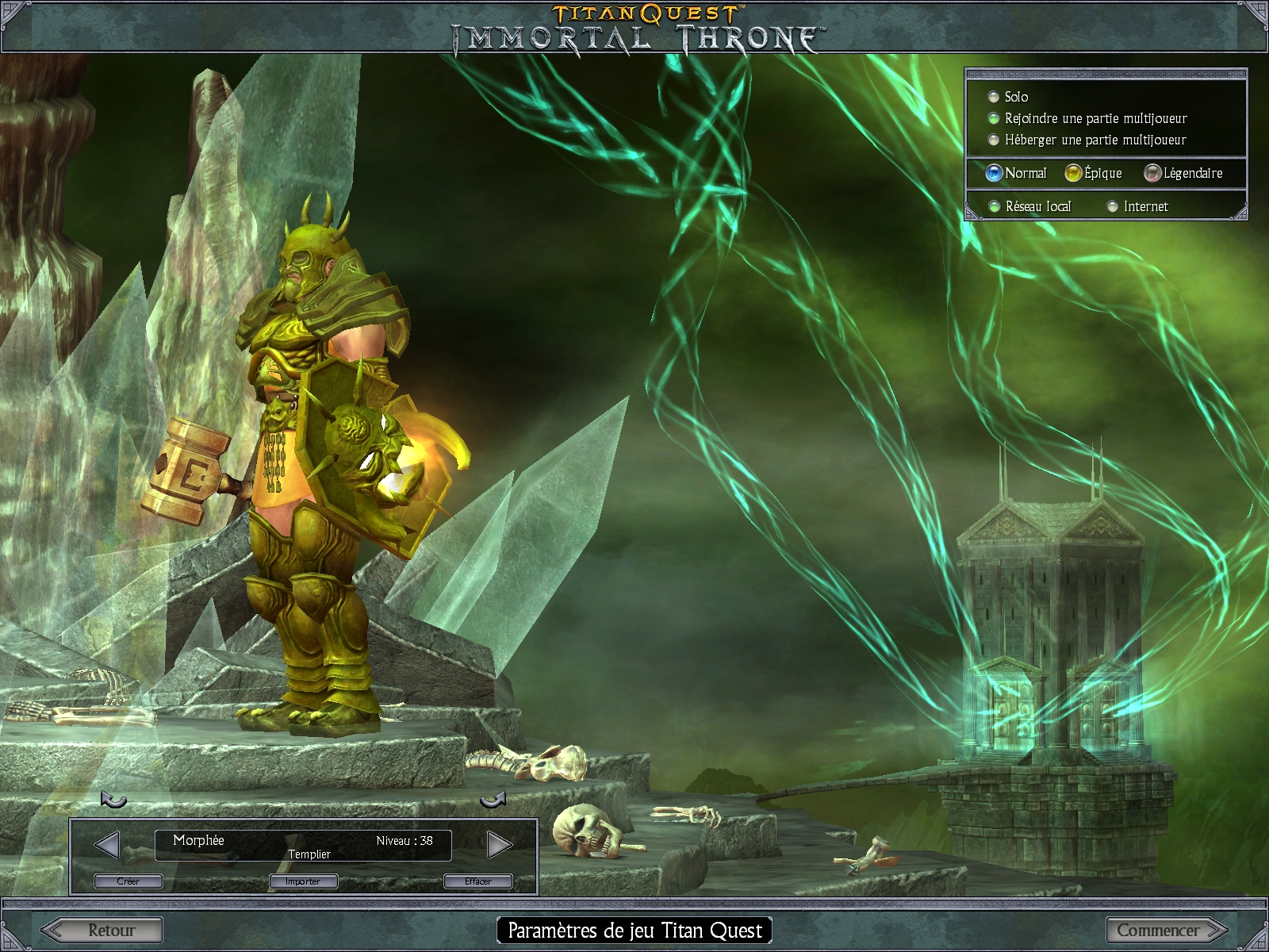 The Fantasy Art of Titan Quest and the Immortal Throne